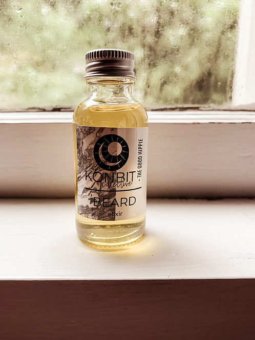 The Good Hippie + Konbit Collective Beard Elixir