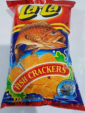 Lala Fish Cracker 100g