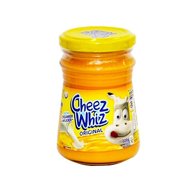 Kraft Cheez Whiz Plain 210g