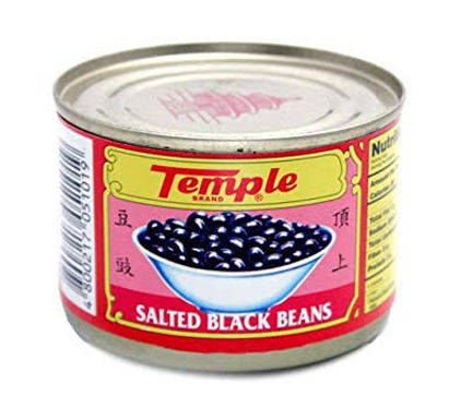 Temple Black Beans Can 180g