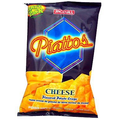 J&J Piattos Potato Chips - Cheese Party Pack 212g