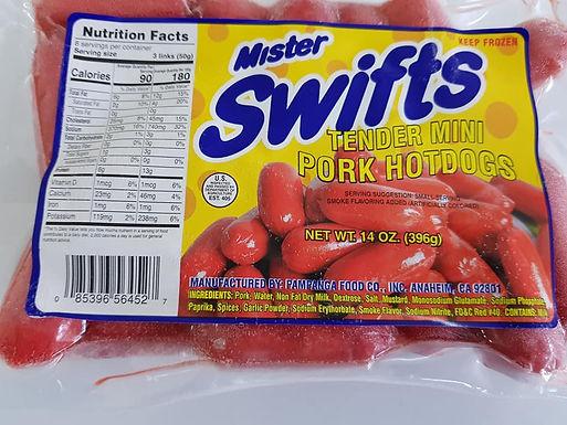 Mister Swifts Tender Juicy Hotdog Mini 400g