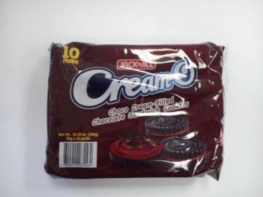 J&J Cream-O Choco Fudge (10 x 30g pack)