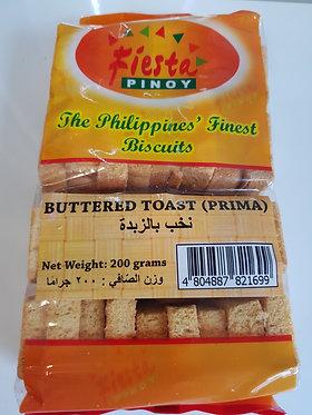 Fiesta Pinoy Buttered Toast (Prima Toast) 200g