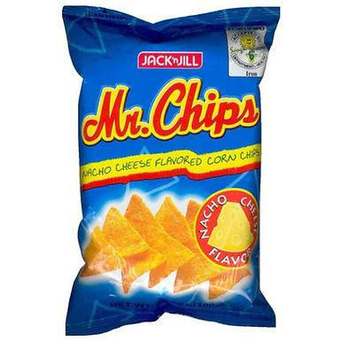 J&J Mr. Chips Cheese Nacho 100g