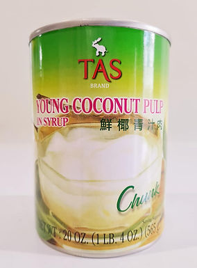 TAS Young Coconut Pulp in Syrup 565g