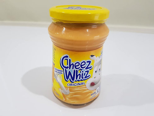 Kraft Cheez Whiz Plain 440g