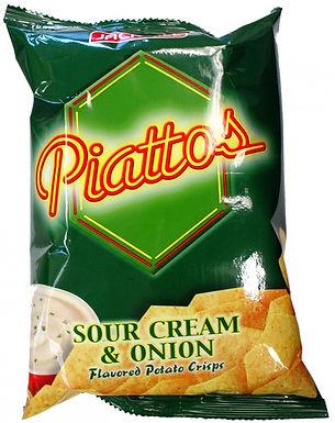 J&J Piattos Potato Chips - Sour Cream 85g