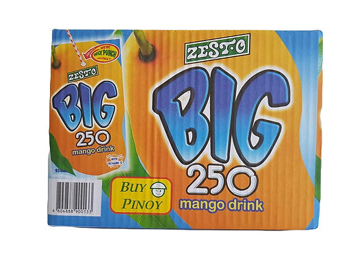 Zesto Big Mango (10 x 250mL)