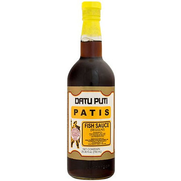 Datu Puti Patis (Fish Sauce) 750mL