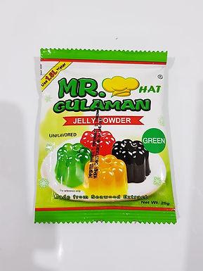Mr. Gulaman - Jelly Powder Unflavored Green 25g