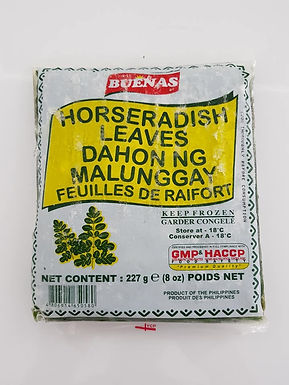 Buenas Frozen Horseradish Leaves (Malunggay) 227g