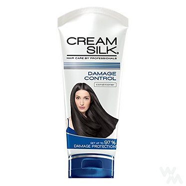Cream Silk Conditioner Damage Control (Blue) 180mL