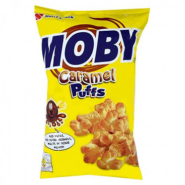 Nutri Snack Moby Caramel Puffs 90g