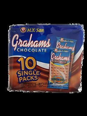 M.Y. San Grahams Choco Crackers 10's 250g