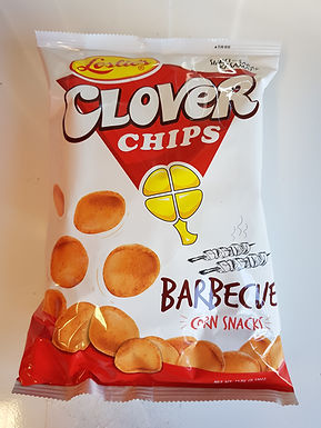 Leslie's Clover Chips Barbecue 145g