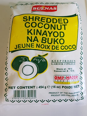 Buenas Frozen Shredded Young Coconut 454g