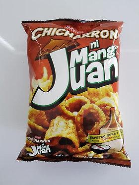 J&J Mang Juan Chicharon Suka't Sili (Vinegar & Chilli) 90g