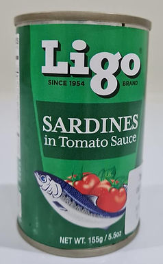Ligo Sardines Regular 155g