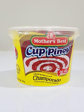 Mother's Best Cup Pinoy Champorado 40g