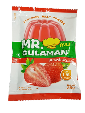 Mr. Gulaman Strawberry Flavour 25g