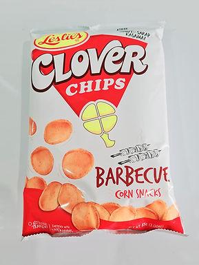 Leslie's Clover Chips Barbeque Corn Snack 85g