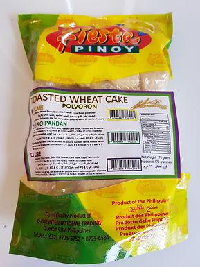 Fiesta Pinoy Toasted Wheat Cake Plain (Polvoron) 170g