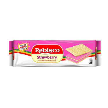 Rebisco Sandwich - Strawberry 300g