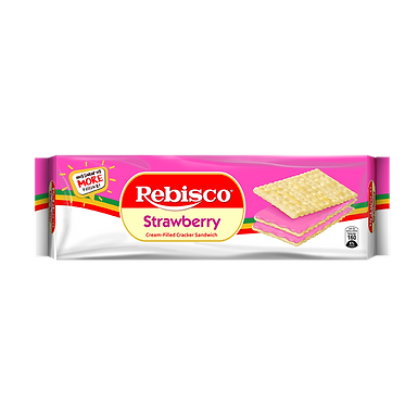 Rebisco Sandwich - Strawberry 300g
