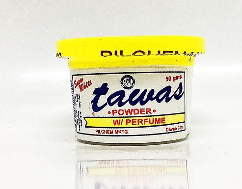 Snow White Tawas Powder Yellow (with perfume) 50g