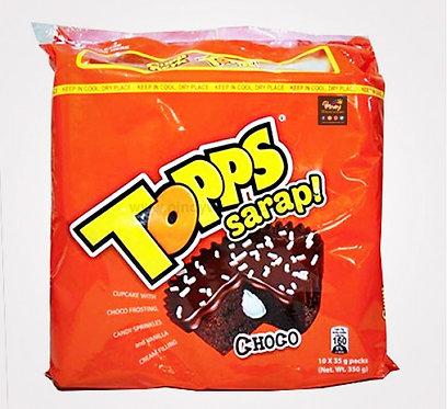 Cupp Keyk Topps - Choco (10 packs) 340g