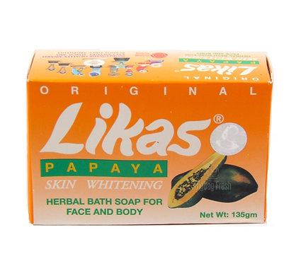 Likas Papaya Skin Whitening Herbal Soap 135g