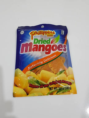 Philippine Brand Dried Mangoes 100g