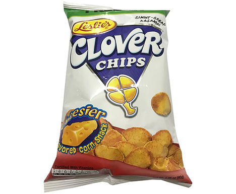 Leslie's Clover Chips Cheese 85g