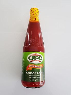 UFC Banana Sauce Regular 550g
