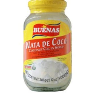 Buenas Nata De Coco Coconut Gel (White) 340g