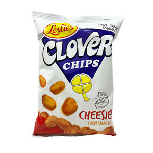 Leslie's Clover Chips Cheese 145g
