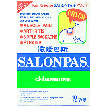 Salonpas Plaster (10 pieces)