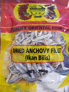 Dragon & Phoenix Dried Anchovy Fillet 100g