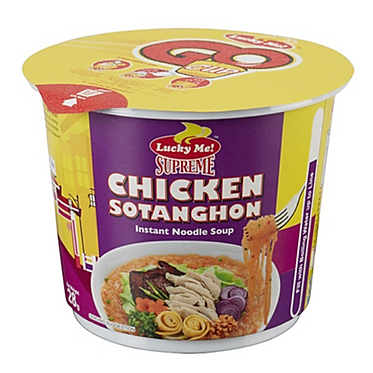 Lucky Me Mini Cup Noodles - Chicken Sotanghon 28g