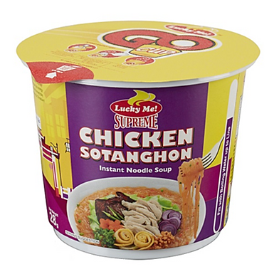 Lucky Me Mini Cup Noodles - Chicken Sotanghon 28g