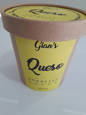 Gian's Sorbetes Queso Flavour (Cheese) 450mL