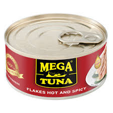 MEGA Tuna Flakes Hot & Spicy 180g