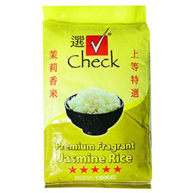 Check Premium Fragrant Jasmine Rice 10kg