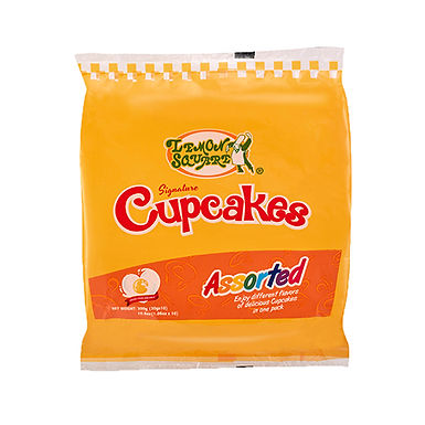 Lemon Square Assorted Cupcakes (10 pack) 300g