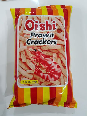 Oishi Prawn Crackers Classic 60g