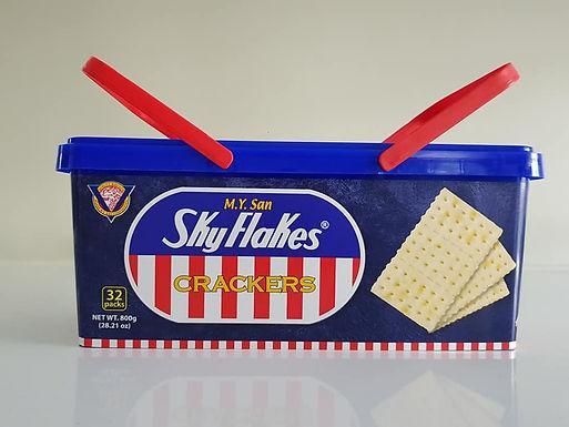 M.Y. San Skyflakes Crackers Pail 800g