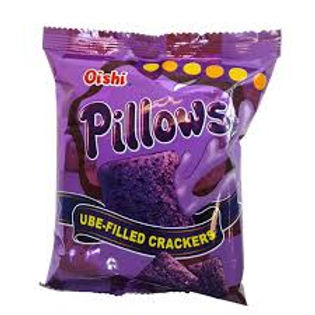 Oishi Pillows Ube Filled Crackers 38g