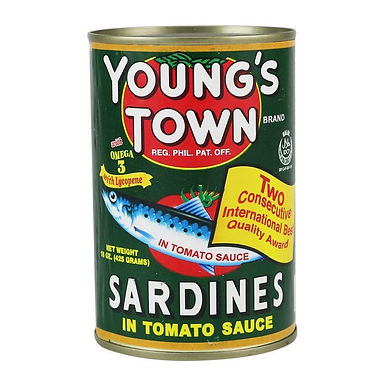 Youngstown Sardine Green 155g