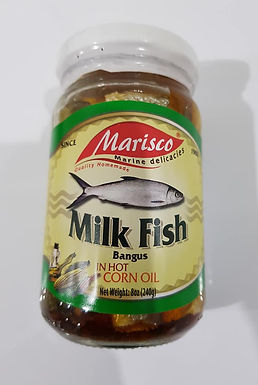 Marisco Milkfish (Bangus) in Hot Corn Oil 240g